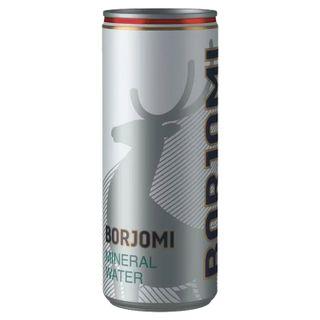 BORJOMI / Carbonated mineral water BORJOMI 0.33 l, can