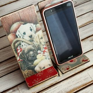 Mobile Phone Stand Puppies