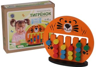 "Krasnokamsk toy / Logic game ""Tiger cub"""