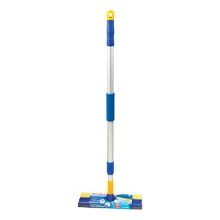 LIMA / LIMA glass washer, aluminum telescopic handle 76-125 cm, working part 25 cm (tie, sponge, handle), for home and office