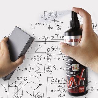 The cleaning liquid spray for whiteboards, ENHANCED FORMULA BRAUBERG TURBO MAX, 250 ml