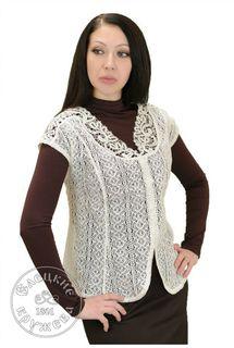 Women's chiffon blouse lace С478