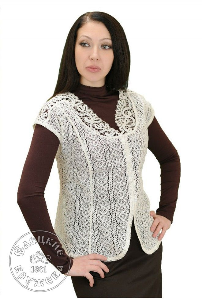 Yelets lace / Women's lace blouse С478