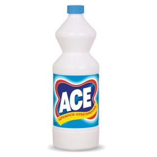 1 litre bleaching and cleaning, ACE, white fabric