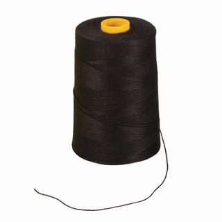 BRAUBERG / Lavsan thread for sewing documents, BLACK, diameter 1 mm, length 1000 m, LSh 210h