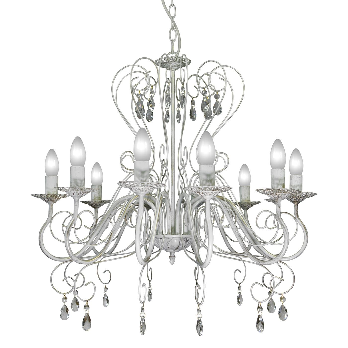 PETRASVET / Pendant chandelier S1021-10, 10xE14 max. 60W