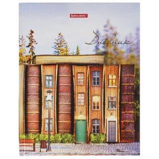 Diary 1-11 class, solid, BRAUBERG, glossy lamination,