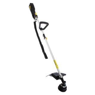 Trimmer electric Huter GET-1500SL, 1.5 kW power, disassembled shaft, fishing line/knife