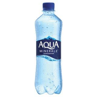 AQUA MINERALE / Carbonated drinking water Aqua Minerale, 0.5 l, plastic bottle
