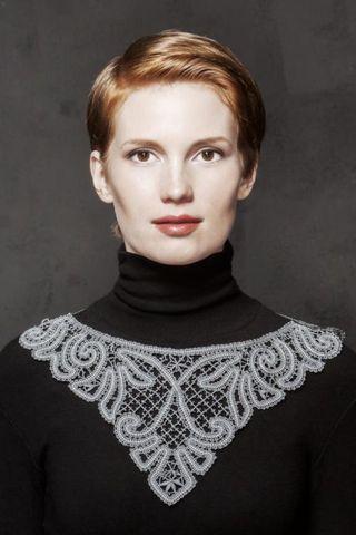 Finish-lace necklace