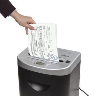 Shredder (shredder) BRAUBERG S22-S, 2 levels of secrecy, strips 4 mm, 22 sheets, 35 l, CD
