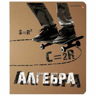 Notebook subject CRUTA TEMA 48 sheets, 3D printing, ALGEBRA, cell, ALT