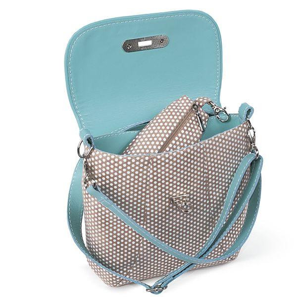 """Leather bag """"Paris"""" blue"""
