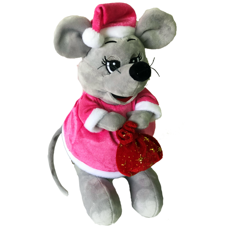 """New Year's gift Mouse """"Gadget"""" + set of sweets 600g."""