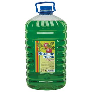 Liquid soap 5 l, RAINBOW Apple, PET