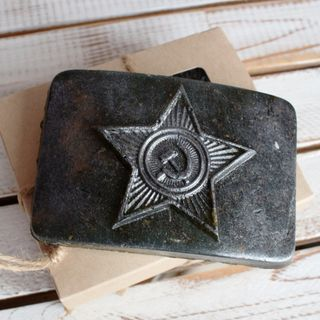 Soap with herbs Army Plaque
