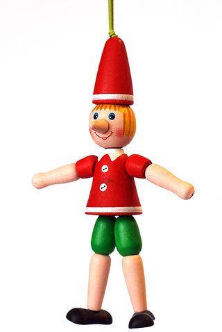 Figurine wooden Pinocchio