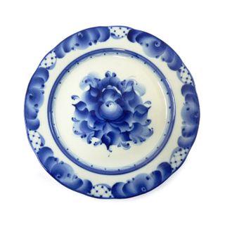 Proporciona soup plate diameter of 200 mm, Gzhel Porcelain factory