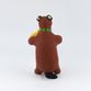 Clay toy Bear with violin 8.5 x 12.5 x 8, Dymkovo toys - view 3