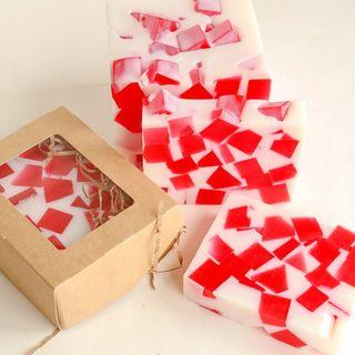 Strawberry Marshmallow - handmade soap
