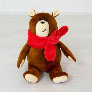 "Soft toy Kidsqo ""joy Bear"" 20 cm brown"