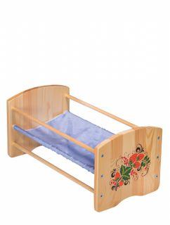 """Bed rocking doll """"Nastenka"""" 430*486*250 mm"""