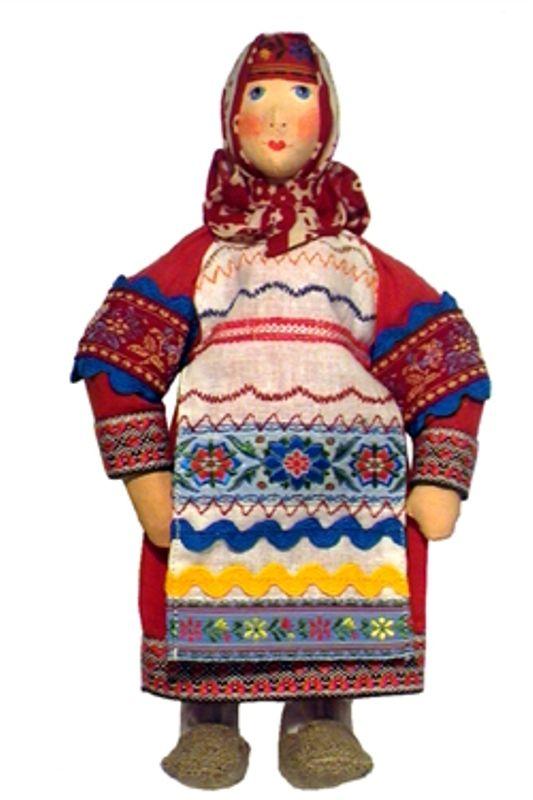 Masha 'peasants' Doll gift porcelain