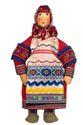 Masha 'peasants' Doll gift porcelain - view 1
