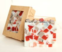 Gingerbread - bar 500 g - handmade soap with the aroma of spicy cinnamon