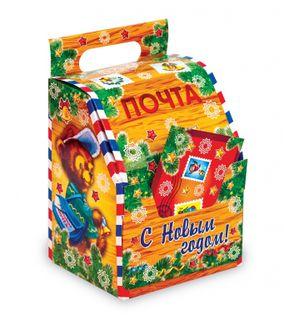 Новогодняя картонная упаковка 700-900 г