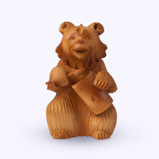Bogorodskaya toy / Wooden souvenir