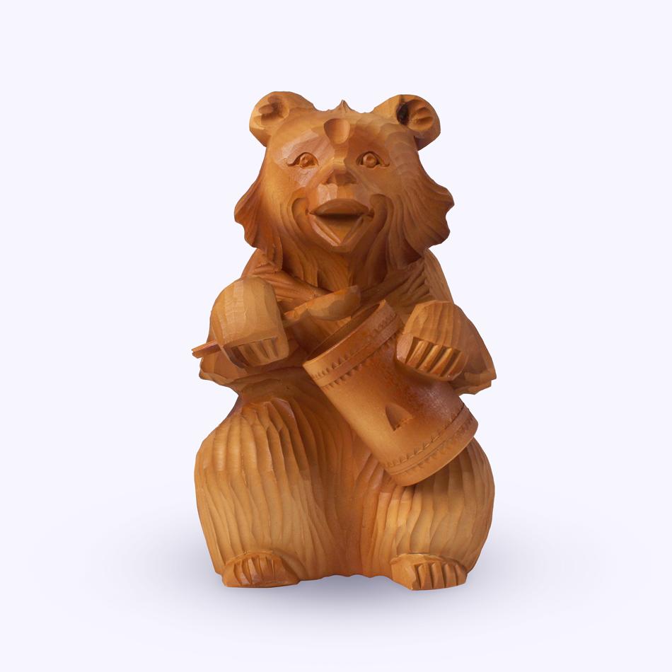 "Bogorodskaya toy / Wooden souvenir ""Lakomka"""