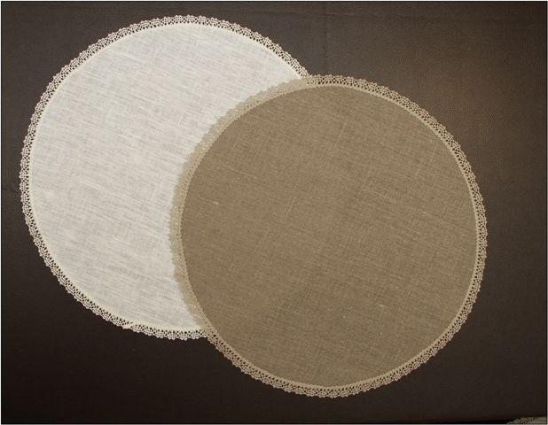Napkin round 40 cm