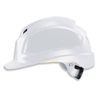 UVEX / Helmet Pheos B-WR WHITE, ratchet adjustment mechanism, textile headband