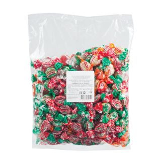 ZHILI-BYLI / Candy-caramel LIVED-WERE, lollipop MINI, classic mix, 1 kg, package