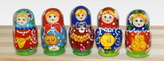 Matryoshka 5 seats Item - Souvenir