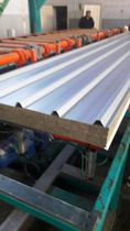 Roofing sandwich panels with basalt insulation