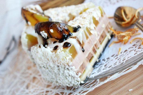 Soap cake Lemon coconut
