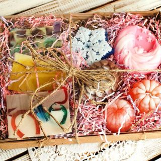 New Year's large set of handmade soap Fabulous