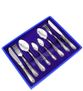 Pavlovsk plant / Set of cutlery 'Irises', 24 items - view 1