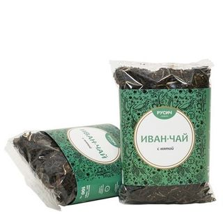 "Ivan-tea ""RUSICH"", leaf with mint, 100g"