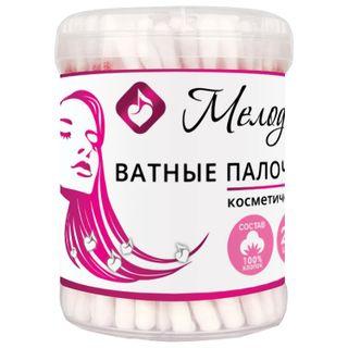 MELODY / Cotton swabs SET 200 pcs., Plastic cup