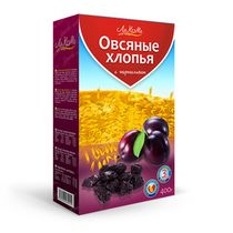 Oat flakes with prunes