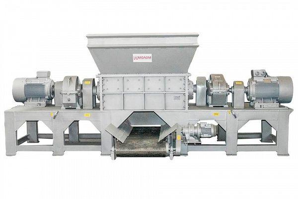 Shredders large-size with discharge conveyor DShK-400-7,5 / DShK-1900-2X90