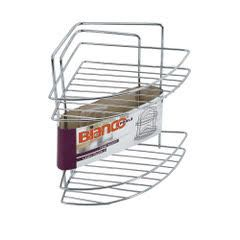 2 levels of FreeStanding or wall, corner, holder for soap and shampoo