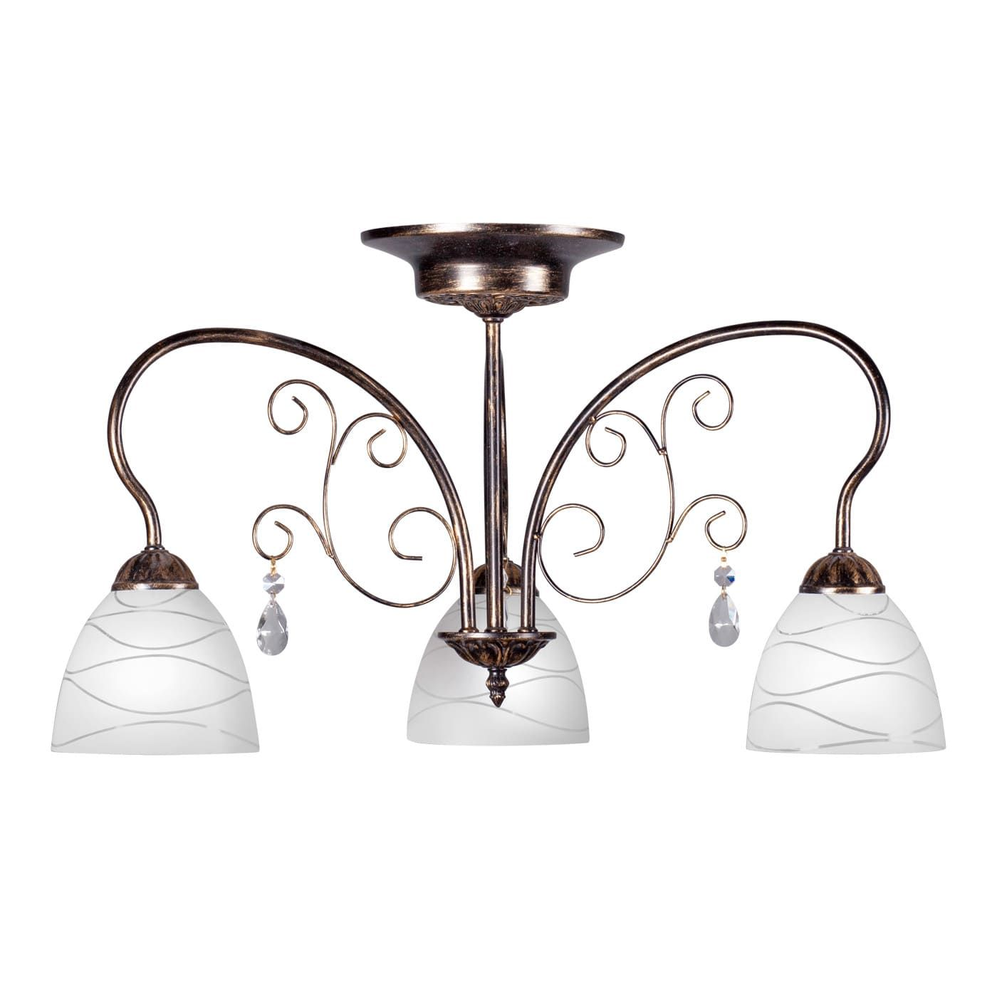 PETRASVET / Ceiling chandelier S2130-3, 3xE27 max. 60W