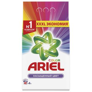 Washing powder ARIEL machine (Ariel) Color 6 kg