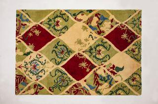 "LA`AL Textiles / Carpet ""Suzani-2020"", 120 x 180 cm"