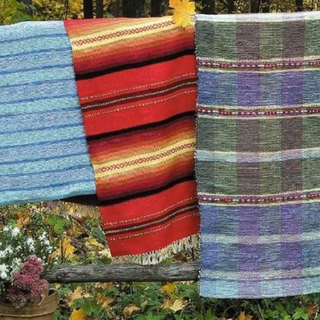 Homemade woven rugs of excellent quality