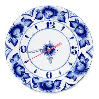 Watch Dish Gzhel Porcelain factory